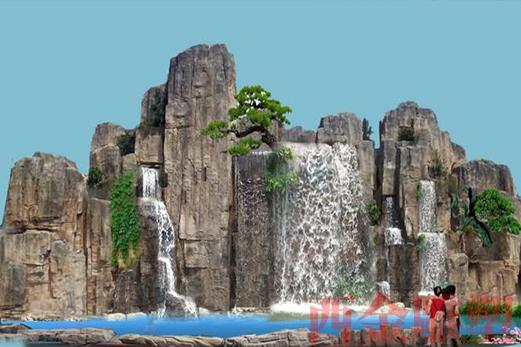 景观石山雕塑